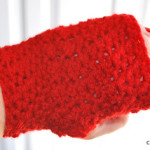 Textured Fingerless Gloves ~ Elisabeth Spivey – Calleigh's Clips & Crochet Creations