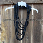 Thick and Quick Chain Scarf ~ Elisabeth Spivey – Calleigh's Clips & Crochet Creations