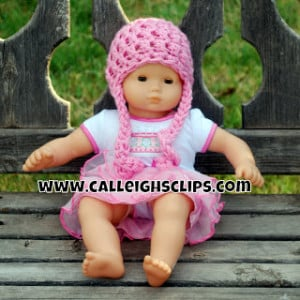 Bitty Baby Beanie or Preemie Beanie ~ Elisabeth Spivey - Calleigh's Clips & Crochet Creations