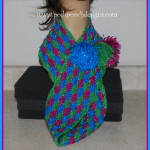 Gumdrop Sparkle Cowl ~ Sara Sach - Posh Pooch Designs