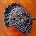 Sunset Slouchy Hat ~ Elisabeth Spivey - Calleigh's Clips & Crochet Creations