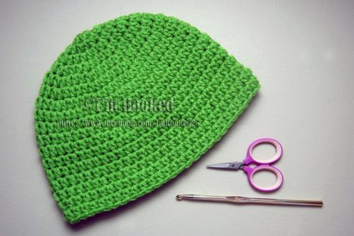 Basic Beanie Free Crochet Pattern