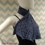 Crochet Dragon Wing Scarf ~ Jessie At Home