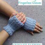 Women's Sweet Delight Fingerless Gloves ~ EyeLoveKnots