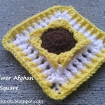Sunflower Afghan Square ~ EyeLoveKnots