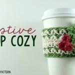 Festive Cup Cozy ~ Oombawka Design