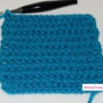Double Crochet Between Stitches ~ American Crochet
