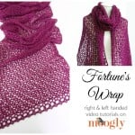 Fortune's Wrap Tutorial - C2C Decreases ~ Moogly