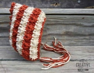 Little Flame Pixie Bonnet ~ Creative Threads by Leah - Cre8tion Crochet