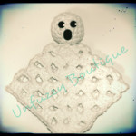 Boo Lovey Blanket ~ Busting Stitches