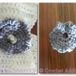 Gentle Wave Button Flower ~ Crochet Addict