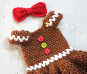 Gingerbread Girl Dress ~ Repeat Crafter Me