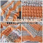 Glover Stitch Baby Blanket ~ Meladora's Creations