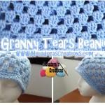 Granny Tears Beanie ~ Meladora's Creations