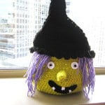 Boo Halloween Witch Basket ~ Crochet Dreamz