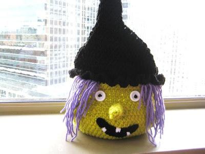 Boo Halloween Witch Basket ~ Crochet Dreamz
