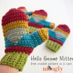Hello Gnome Mittens ~ Moogly