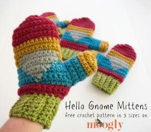 Hello Gnome Mittens ~ Moogly
