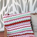 A Funky Ripple Blanket ~ Cook Clean Craft