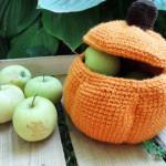 Pumpkin Basket ~ Hannicraft