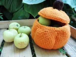 Pumpkin Basket ~ Hannicraft