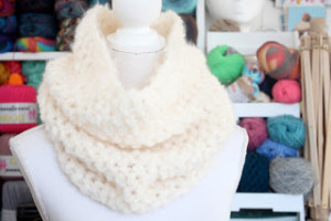 Simple Hairy Cowl ~ A la Sascha