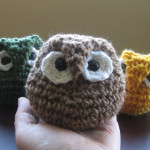 Crochet Owl ~ Almost Unschoolers