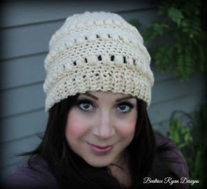 Ladies Whimsical Warmth Beanie ~ Beatrice Ryan Designs
