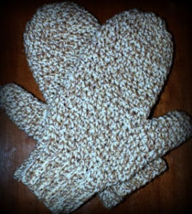 Daddy's Simply Easy Mittens ~ Oombawka Design