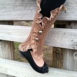 Mara Leg Warmer Spats ~ Lisa Jelle – Cre8tion Crochet