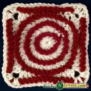 Merry Go Round Square ~ Stitches 'N' Scraps