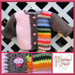 Neapolitan Rainbow Jacket ~ Designs from Grammy's Heart, with Love