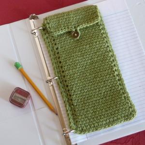 Oxford Binder Pouch ~ Amy - Crochet Spot