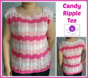 Candy Ripple Tee ~ Maz Kwok's Designs