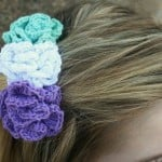 Pixie Blossoms Hair Comb ~ Sick 'Lil Monkeys - Cre8tion Crochet