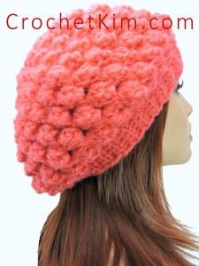 Berry Patch Slouchy ~ Kim Guzman - CrochetKim