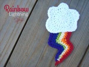 Rainbow Lightning ~ Stitch11