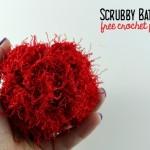 Scrubby Bath Pouf ~ Oombawka Design