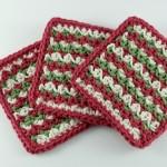 Simple Striped Coasters ~ Oombawka Design