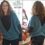 Swirling Leaves Vest ~ Creative Threads by Leah – Cre8tion Crochet