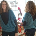 Swirling Leaves Vest ~ Creative Threads by Leah - Cre8tion Crochet