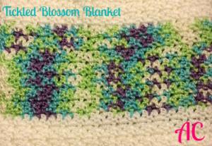 Tickled Blossom Blanket ~ American Crochet