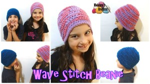 Wave Stitch Beanie ~ Meladora's Creations