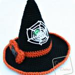 Witch Hat with Bow & Spiderweb ~ Divine Debris