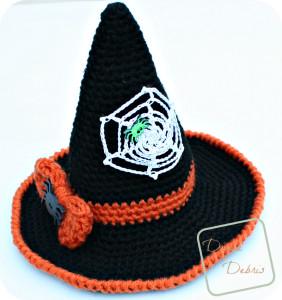 With Hat with Bow & Spiderweb ~ Divine Debris