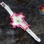 Wrapped in His Love Cuff ~ Sick 'Lil Monkeys - Cre8tion Crochet
