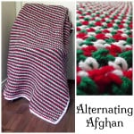Alternating Afghan ~ Rhelena – CrochetN'Crafts