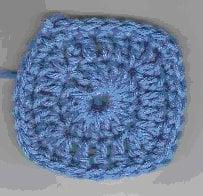 Bonnie's Scrap Yarn Square ~ Crochet N More
