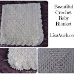 Unique Crochet Baby Shawl Blanket ~ Free Crochet Patterns and Designs by LisaAuch