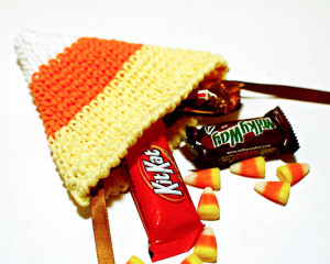 Halloween Treat Bag ~ Petals to Picots